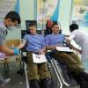 Акция в в/ч 32363 г. Капшагай по безвозмездной сдаче крови